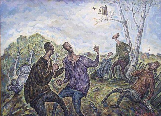 Скворцы прилетели
