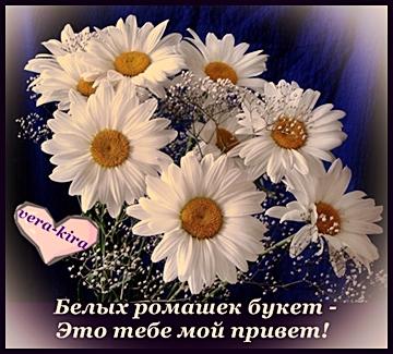 Я тебе цветы подарю