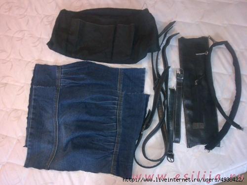 Как сшить ручки на сумку из джинса фото 199