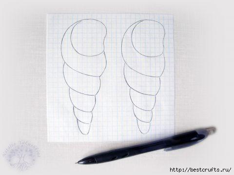 Кулон из бисера - ракушка (2) (480x359, 52Kb)