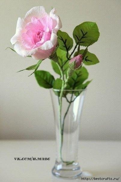 Весенняя роза из фетра (1) (403x604, 93Kb)