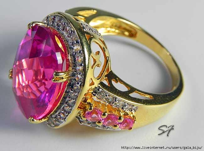 Эксклюзивные кольца с камнями фото