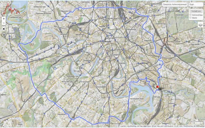 GPS-трек (от Алексея Ерошина):