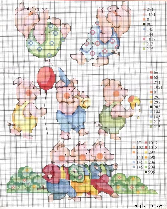 porquinhos diversos (559x700, 389Kb)