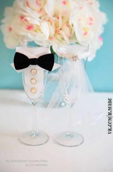 свадебные бокалы своими руками (1) (397x604, 134Kb)