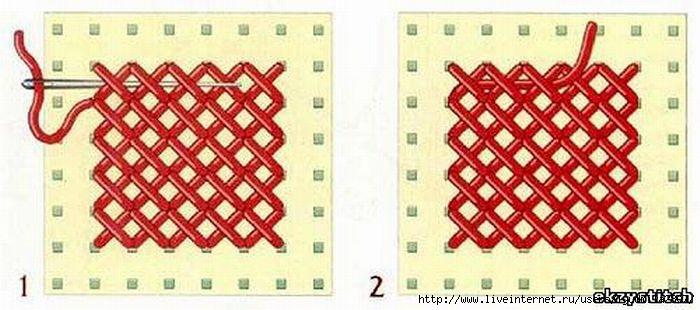 Описание: b вышивка лентами, уроки вышивания, японский стежок.