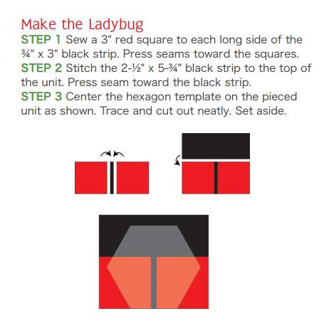 Лоскутное шитье. Салфетка из шестиугольников. Шаблон (4) (469x451, 34Kb)