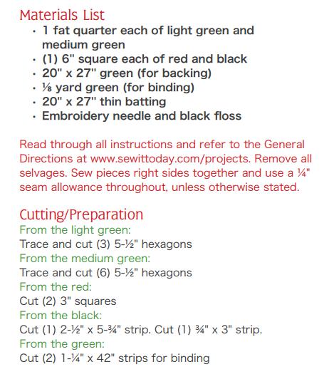 Лоскутное шитье. Салфетка из шестиугольников. Шаблон (6) (462x539, 71Kb)