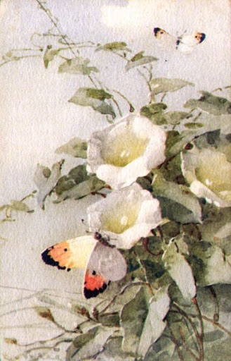 Бабочки и другие насекомые. Картинки для декупажа (3) (329x512, 161Kb)