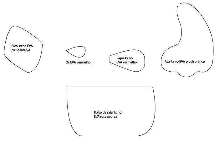 Gallina con pollos de foamirana y plástico botella (36) (700x451, 19Kb)