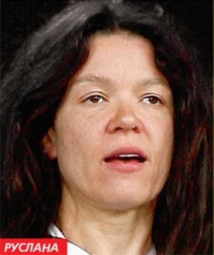 Руслана без макияжа