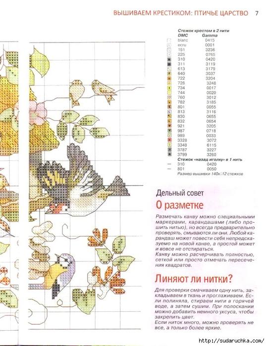 Схемы вышивки из журнала делаем сами 1