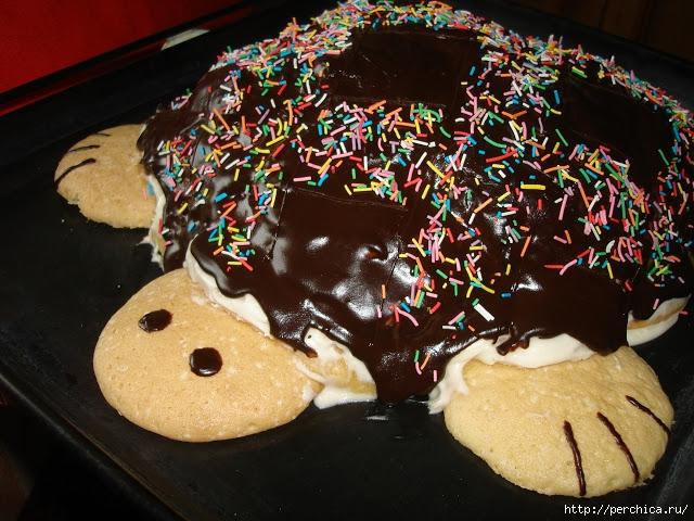 Приготовить торт черепаха фото