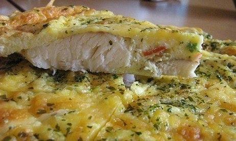 Открытый пирог со сметаной рецепт