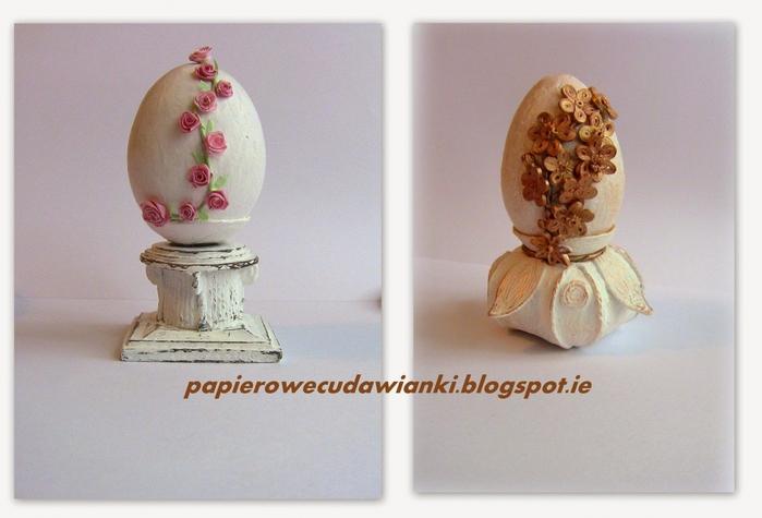 Оригинальная подставка под пасхальное яйцо своими руками. Мастер класс