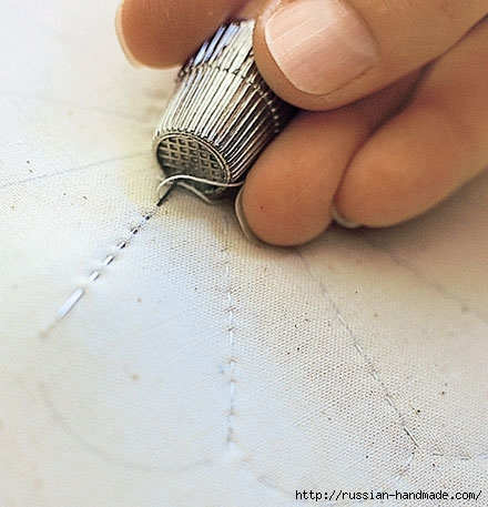 Шьем одеяло в технике ПЭЧВОРК. Учебный курс (13) (440x457, 126Kb)