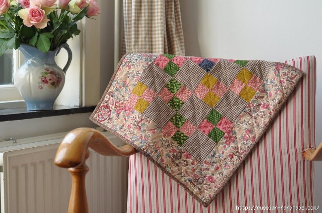 Шьем одеяло в технике ПЭЧВОРК. Учебный курс (20) (650x431, 190Kb)