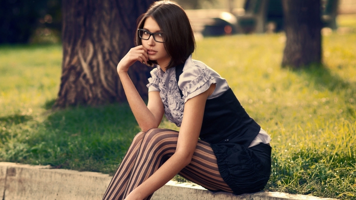красивые девушки в колготках и чулках картинки