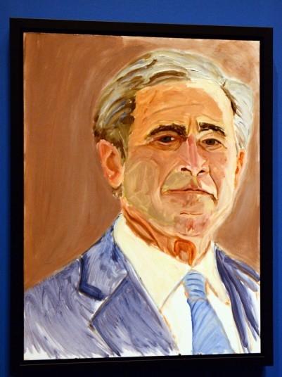 Художественные работы Джорджа Буша