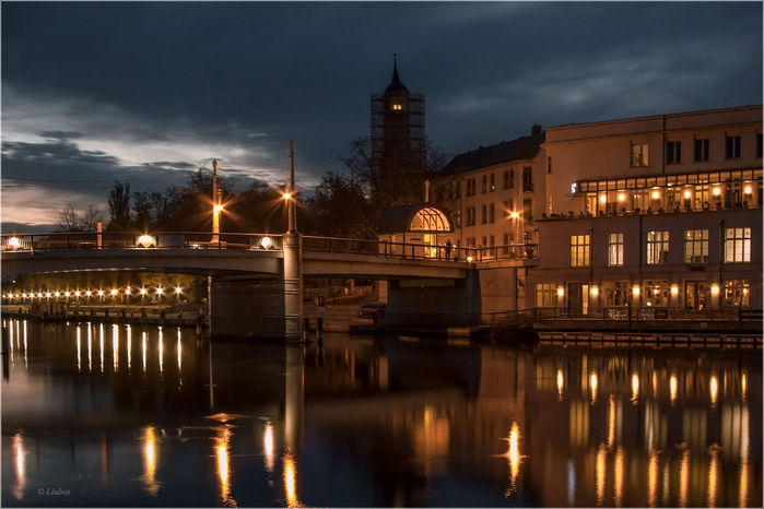 на реке Хафель, Бранденбург (700x466, 217Kb)