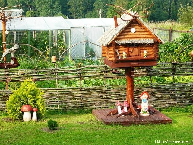 Что сделать из дерева на даче своими руками