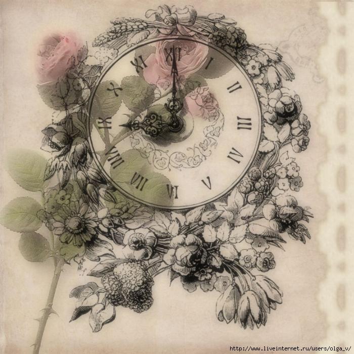 Винтажные цветы_картинки для декупажа_21 (700x700, 367Kb)