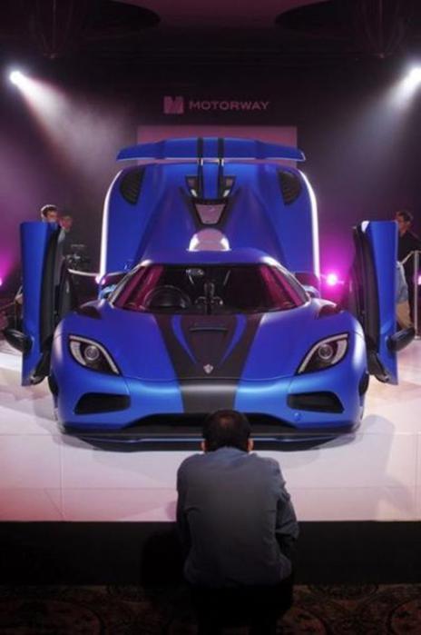 Самый дорогой автомобиль в мире. Модель «Agera S» продали за 3,15 млн евро