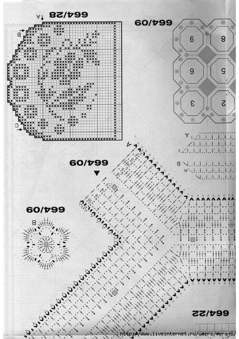 Burda special - E664 - 1982_FRA - Filet au crochet_56 (494x700, 286Kb)