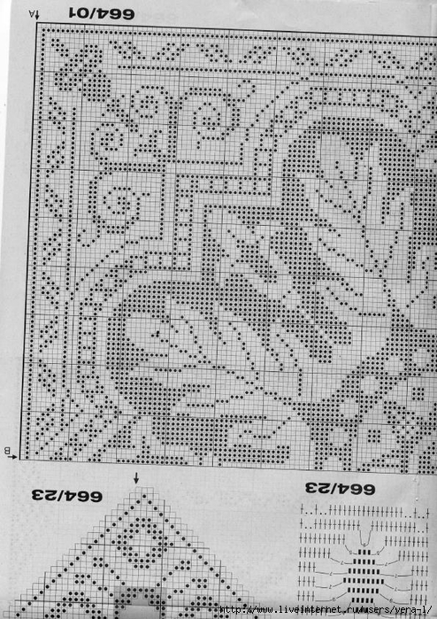 Burda special - E664 - 1982_FRA - Filet au crochet_59 (494x700, 328Kb)