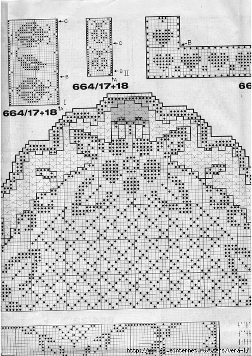 Burda special - E664 - 1982_FRA - Filet au crochet_61 (494x700, 331Kb)