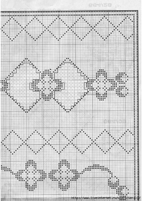 Burda special - E664 - 1982_FRA - Filet au crochet_63 (494x700, 305Kb)
