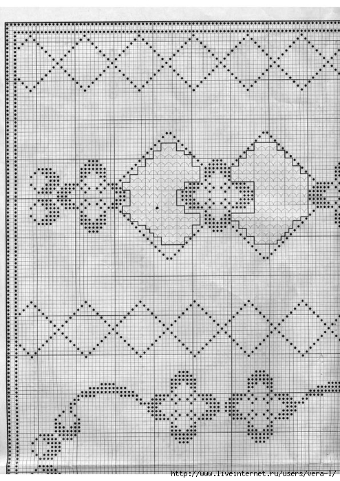 Burda special - E664 - 1982_FRA - Filet au crochet_65 (494x700, 299Kb)