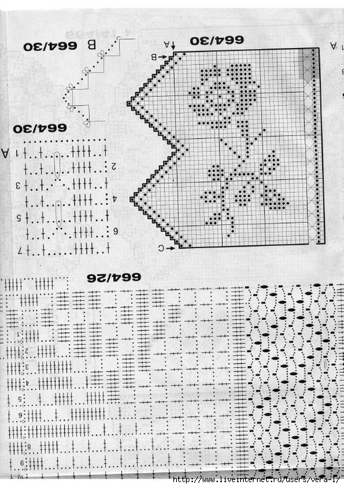 Burda special - E664 - 1982_FRA - Filet au crochet_68 (494x700, 303Kb)