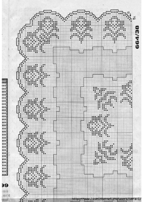 Burda special - E664 - 1982_FRA - Filet au crochet_74 (494x700, 294Kb)