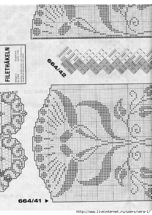 Burda special - E664 - 1982_FRA - Filet au crochet_80 (494x700, 301Kb)