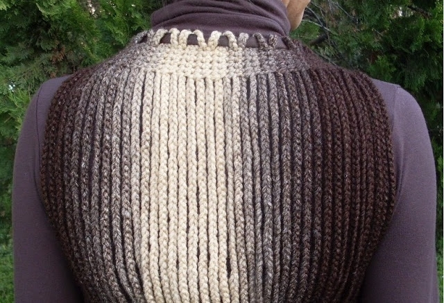 Crocheted Bolero, Shrug; made with chain lengths-I love this! (www.circulo.com.br) (saved as a .docx file on my laptop) -1d (640x437, 271Kb)