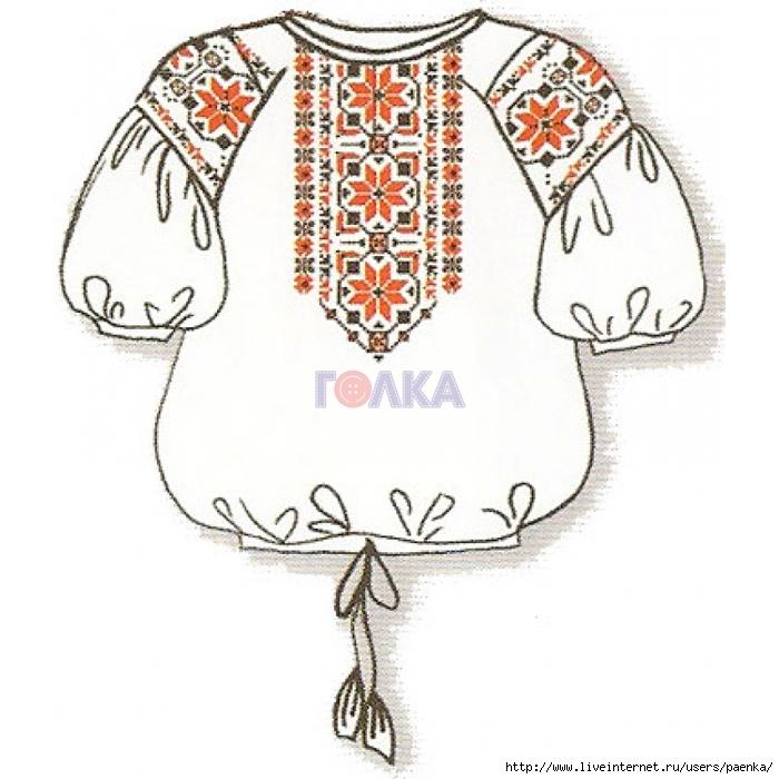 Схемы вышивки крестом женских