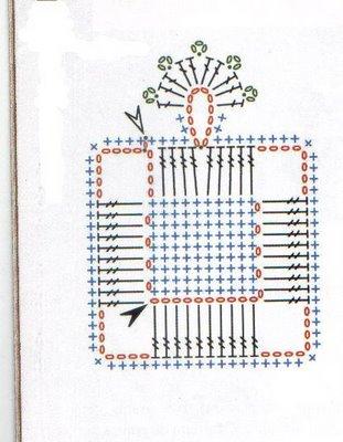 Вязание крючком. Овальные салфетки и подстаканники для стеклянного столика (3) (311x400, 111Kb)