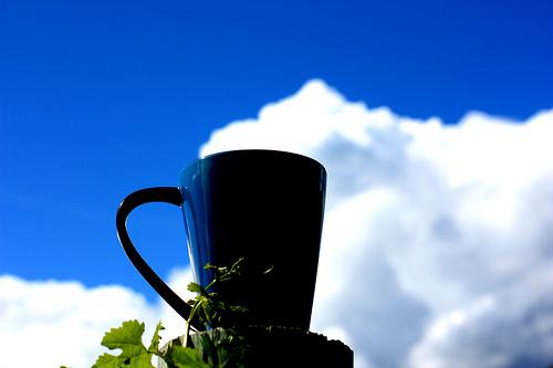 кофе небо облака