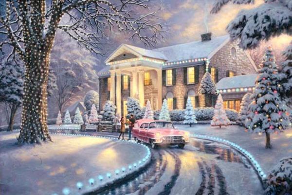 Зимняя сказка от художника Thomas Kinkade/4216969_christmasthomas (600x401, 89Kb)
