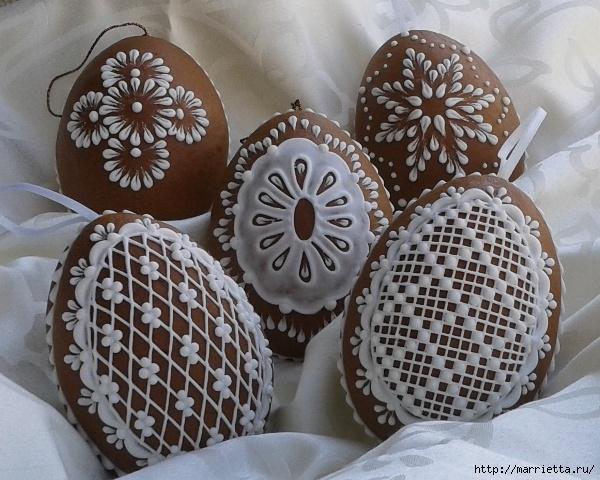 Pascua de pan de jengibre.  Belleza y una clase magistral de pintura (78) (600x480, 238KB)