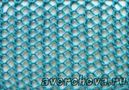 Вязание на спицах сеткой