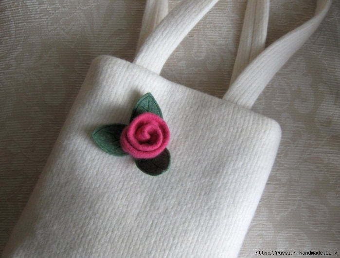 Букет роз из фетра и войлока (1) (700x532, 240Kb)