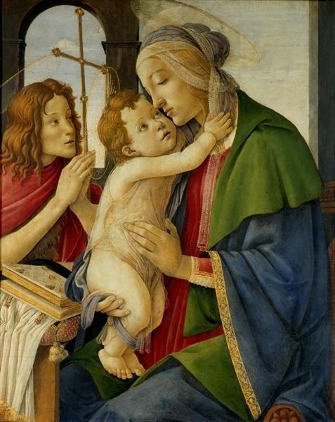 3. Мадонна с младенцем и Иоанном Крестителем (477x600, 137Kb)