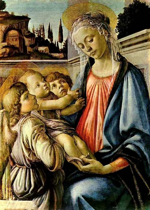 21. Мадонна с младенцем (499x700, 330Kb)