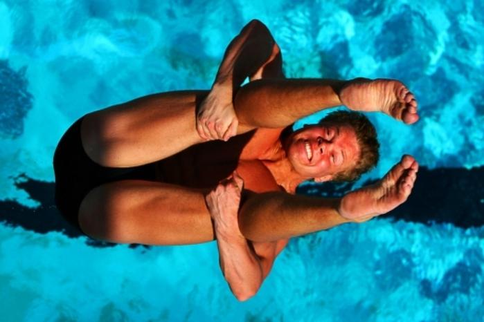 Чемпионат области по прыжкам в воду