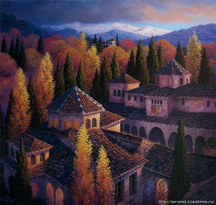 Luis Romero_ spanish painter _ pintor espanhol (9) (700x662, 390Kb)