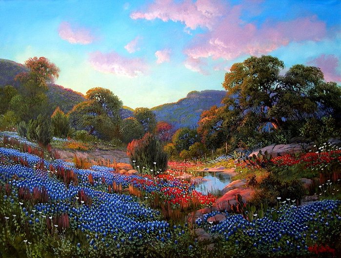 5. Kay Walton. Неземная красота (700x528, 575Kb)