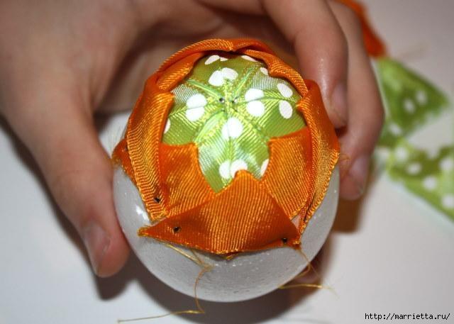 Пасхальные яйца из лент в технике АРТИШОК (21) (640x457, 123Kb)