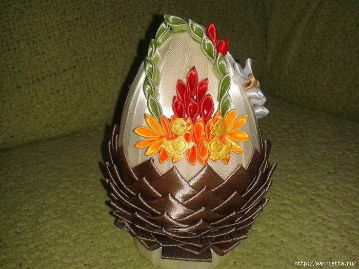 Пасхальные яйца из лент в технике АРТИШОК (32) (700x525, 299Kb)